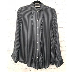 Loft ruffle blouse